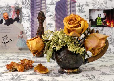 Gabrielle de Montmollin, Still Life with Silver Teapot, 1019