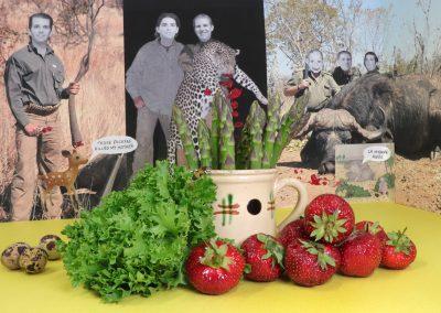 Gabrielle de Montmollin, Still Life with Spring Market Produce, 2019