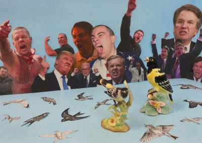 Gabrielle de Montmollin, Still Life with Birds, 2020