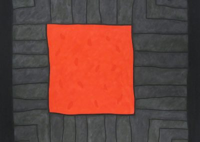 Tony Calzetta, Untitled Painting 342, 73x74 inches