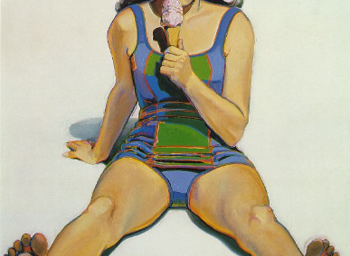 Girl with Ice Cream Cone, 1963