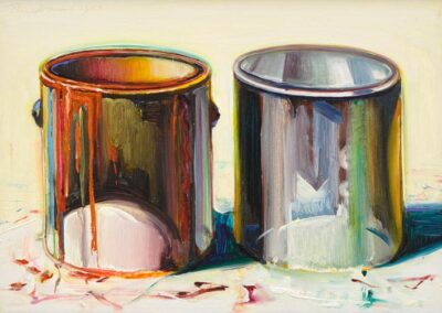 Two Paint Cans, 1987