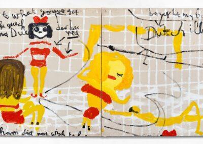 Yellow Girls I, 2017
