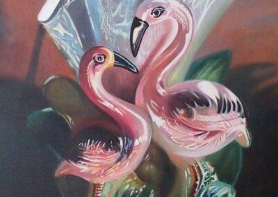 Pink Flamingos, from Florida Noir, 2017