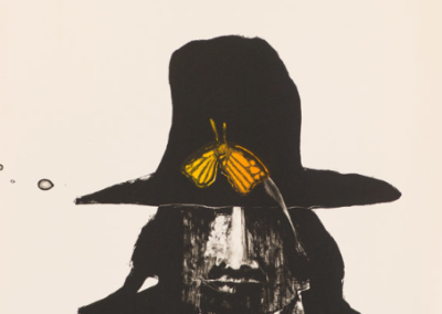 Indian with Butterfly, 1975