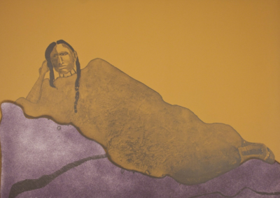 Reclining Indian Woman, 1975