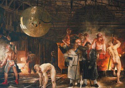 Tomorrow and Tomorrow and Tomorrow, Attila Richard Lukacs, 1991
