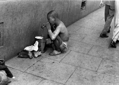 Child beggar, from Shanghai 1949: The End of an Era, 1949
