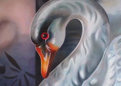 Dark Swan, 2017 from Florida Noir
