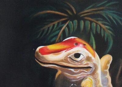 Alligator, 2017, from Florida Noir