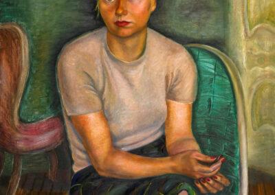 Portrait (Mrs. Zimmerman), 1943